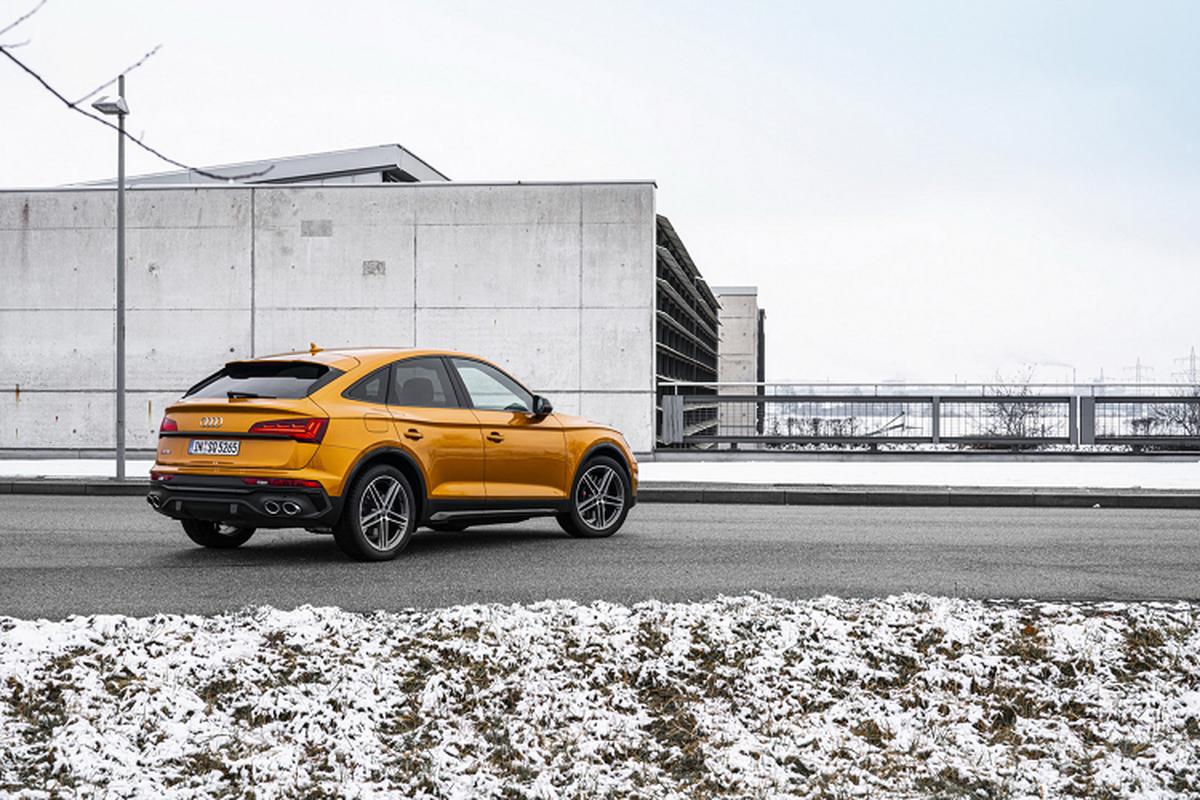 Audi SQ5 Sportback 2021, SUV lai coupe manh 336 ma luc-Hinh-9