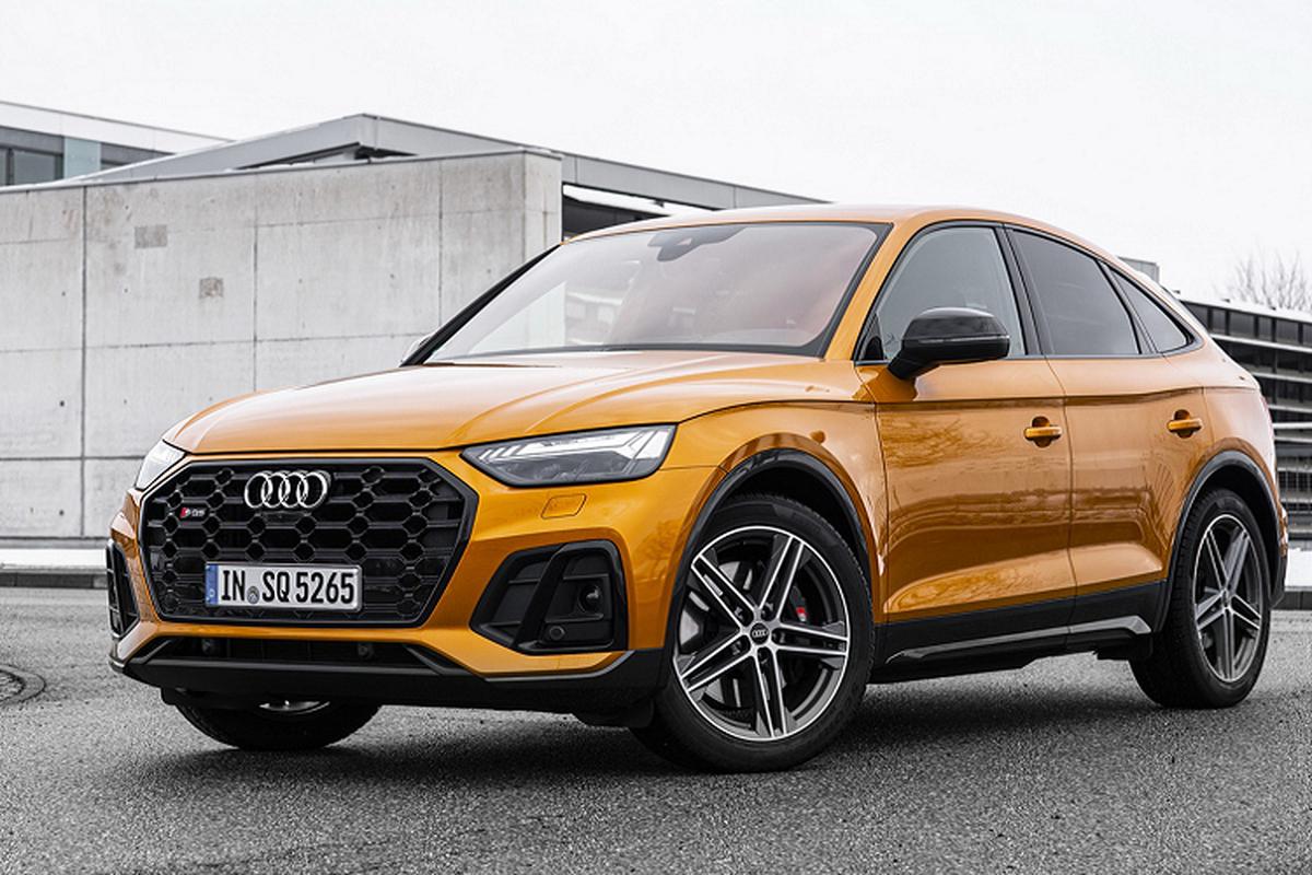 Audi SQ5 Sportback 2021, SUV lai coupe manh 336 ma luc