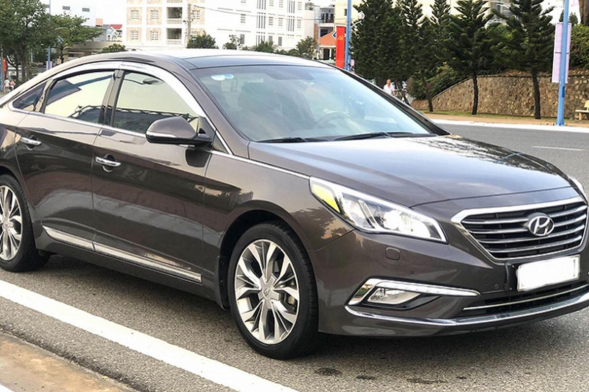 Can canh Hyundai Sonata nhap chay 6 nam, 600 trieu tai VIet Nam