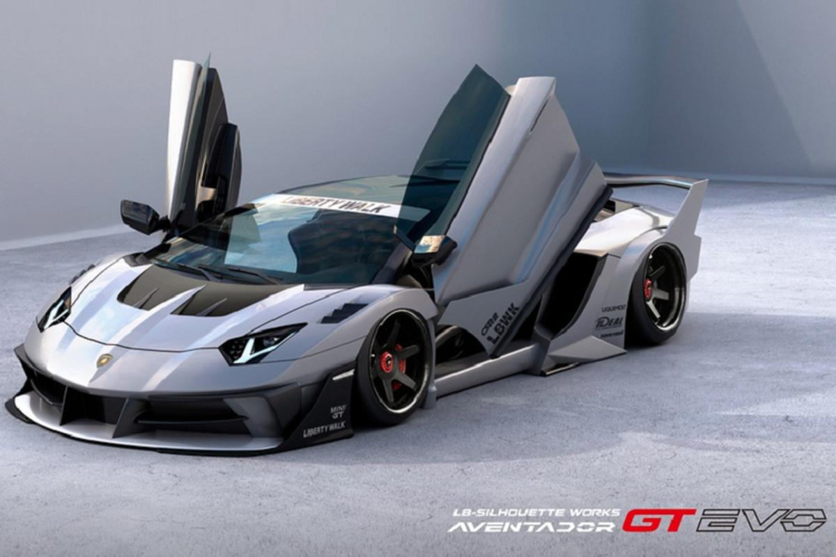 Lamborghini Aventador sieu ham ho voi goi do Liberty Walk-Hinh-2