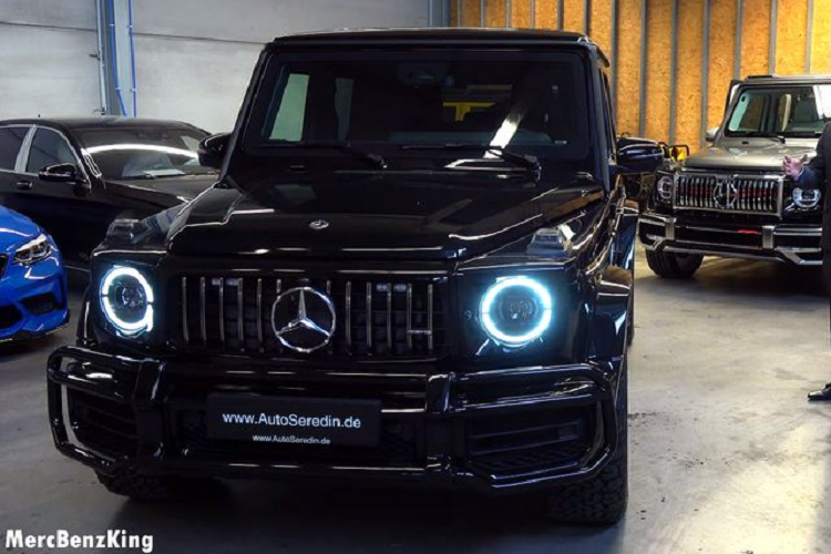 Chi tiet SUV an toan nhat the gioi - Mercedes-AMG G63 boc thep-Hinh-4