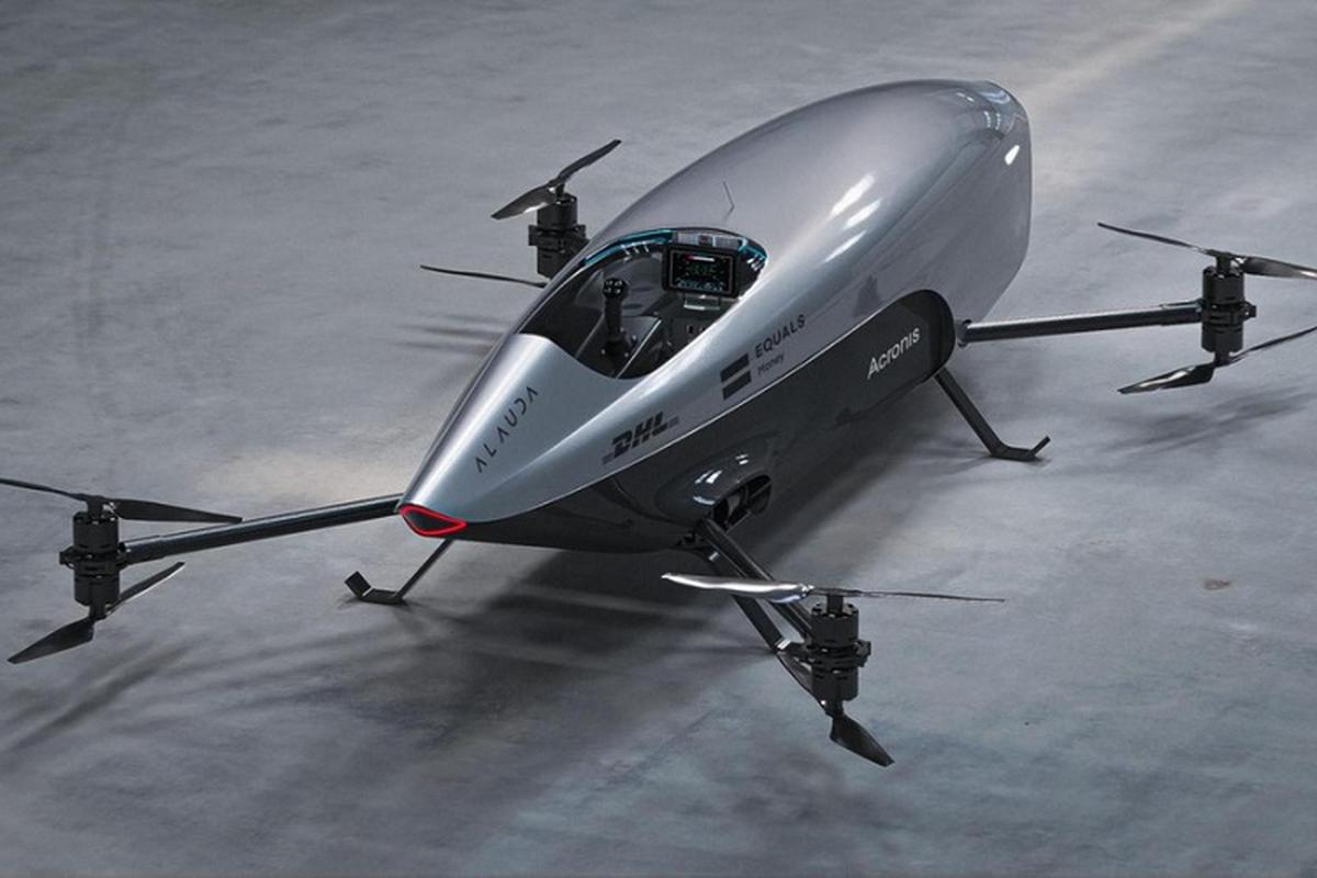 Ra mat xe bay dien Airspeeder Mk3 dau tien tren the gioi-Hinh-3