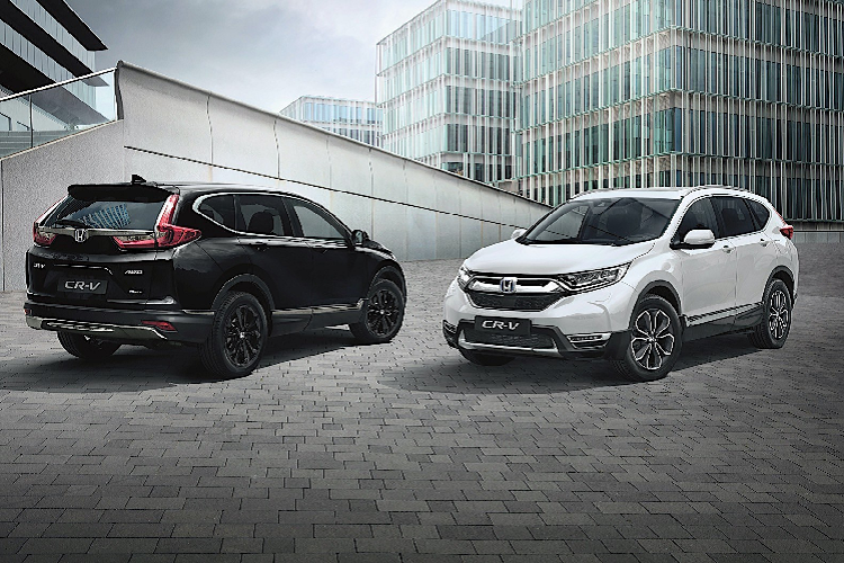 Honda CR-V Sport Line 2021 tang toc 0-100 km/h trong 8,6 giay