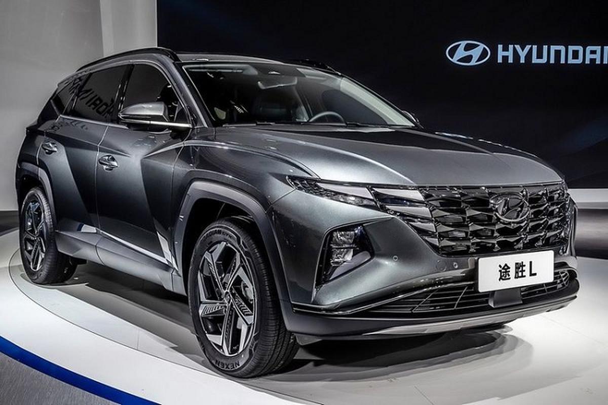 """Hyundai Tucson L 2021 dong co """"hang khung"""" sap ra mat"""