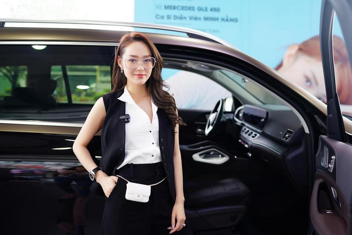 Minh Hằng tậu Mercedes-Benz GLS 450 hơn 5 tỷ đồng chơi Tết
