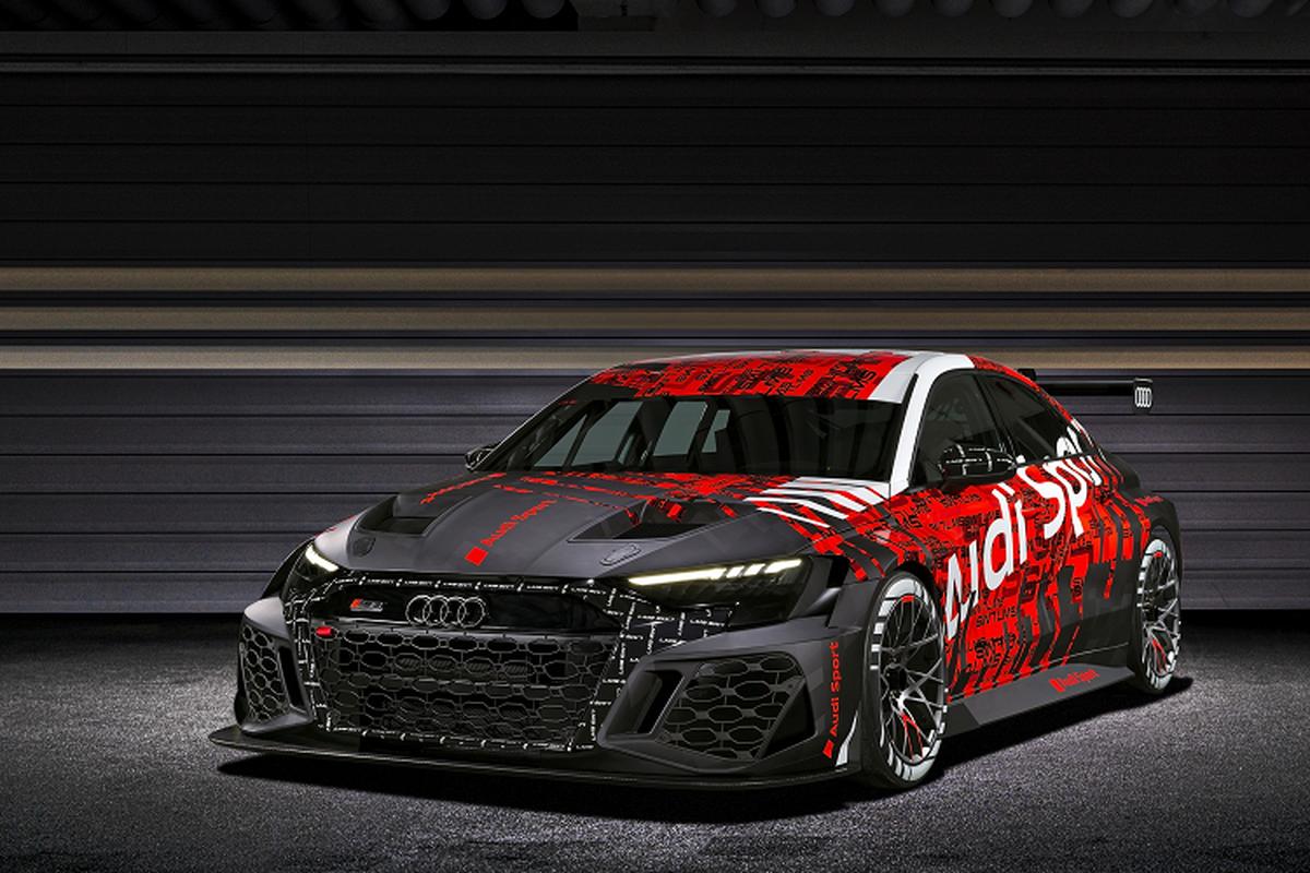 Audi RS 3 LMS 2021 - xe dua hang sang an toan nhat the gioi-Hinh-2