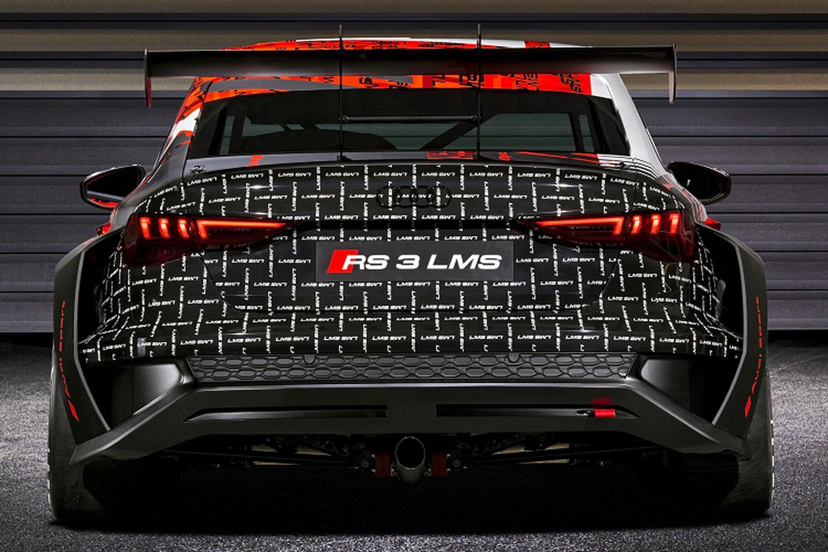Audi RS 3 LMS 2021 - xe dua hang sang an toan nhat the gioi-Hinh-4