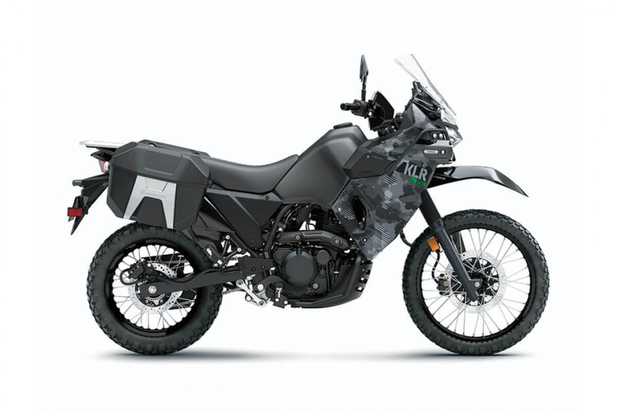 Kawasaki hoi sinh mau adventure tam trung KLR 650 2021-Hinh-2