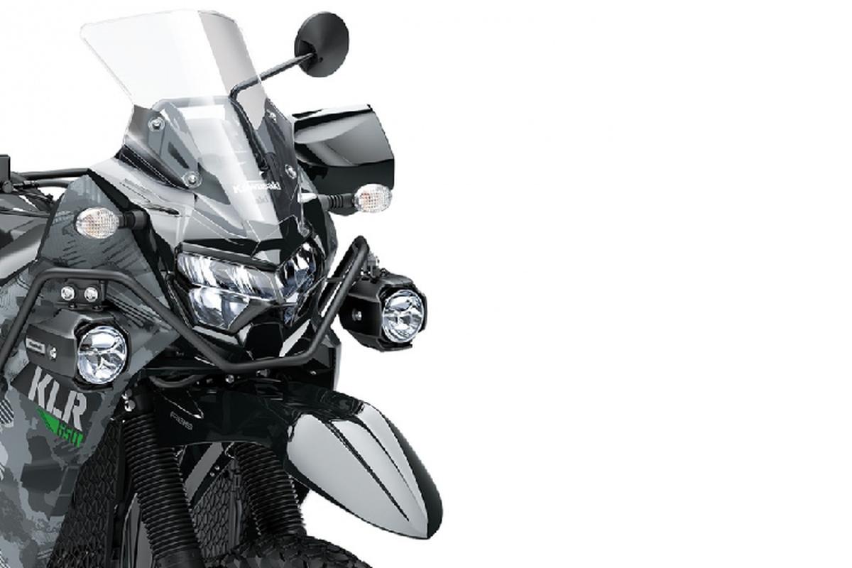 Kawasaki hoi sinh mau adventure tam trung KLR 650 2021-Hinh-3