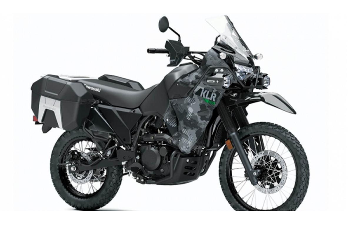Kawasaki hoi sinh mau adventure tam trung KLR 650 2021