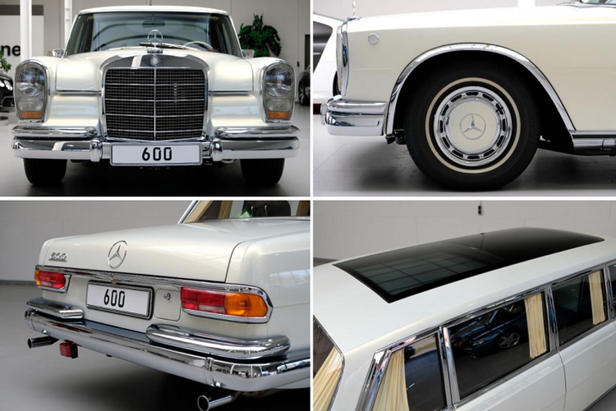 Xe sieu sang Mercedes-Benz 600 Pullman 46 tuoi hon 60 ty dong-Hinh-5