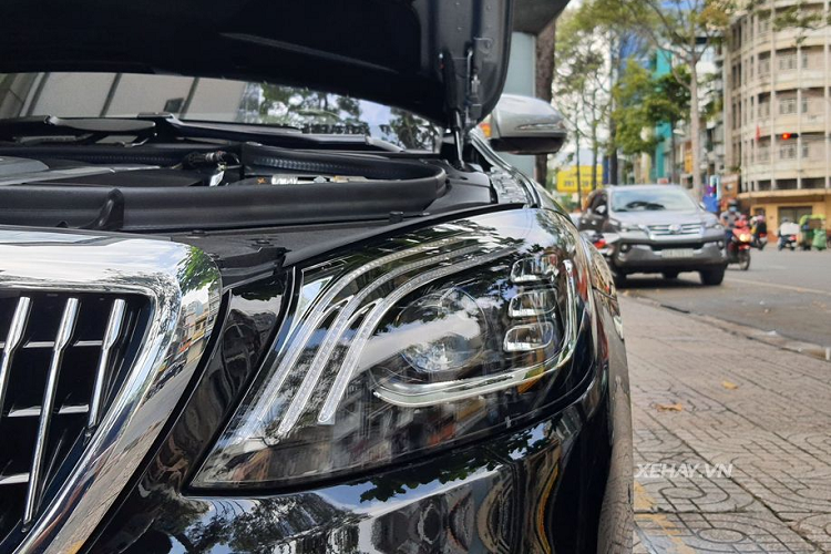 Can canh Mercedes-Maybach S650 Pullman hon 70 ty tai Sai Gon-Hinh-6
