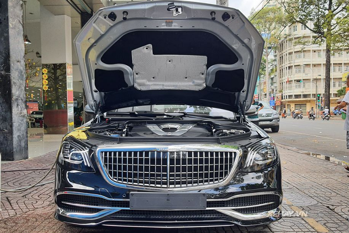 Can canh Mercedes-Maybach S650 Pullman hon 70 ty tai Sai Gon