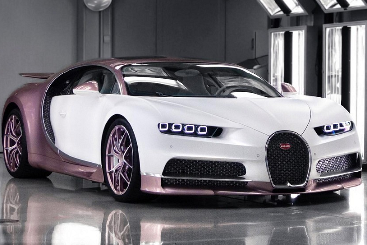 """Chong nguoi ta"" mua sieu xe Bugatti Chiron Sport hong doc nhat vo nhi tang vo nhan Valentine"
