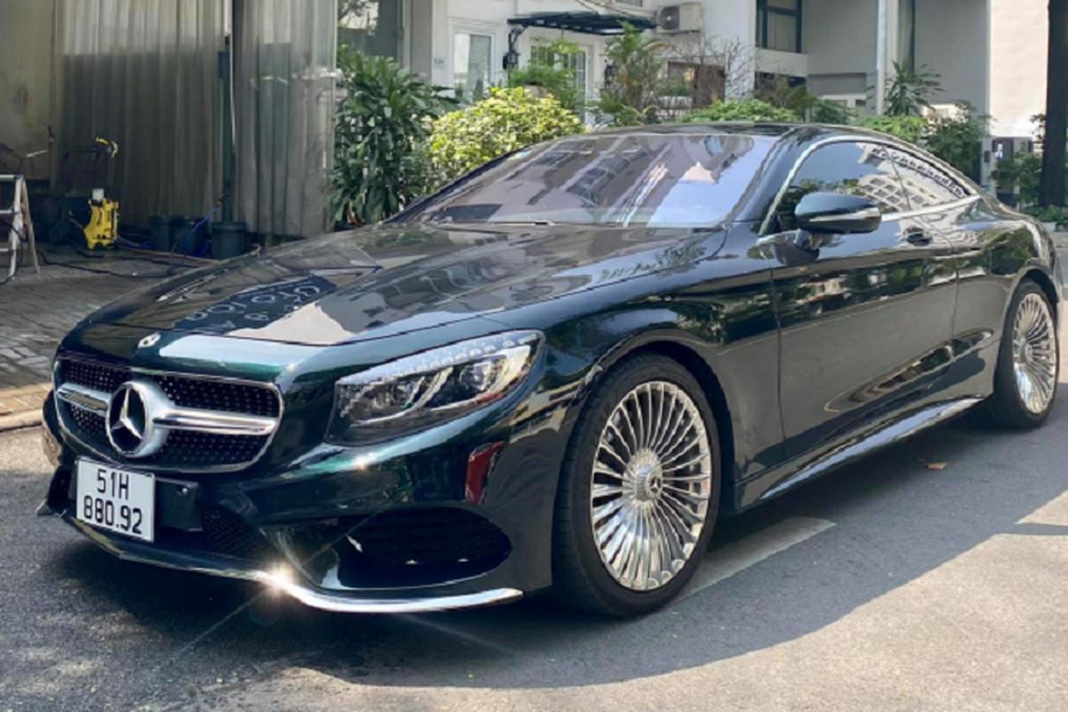 Dung 3 nam, Mercedes-Benz S400 Coupe ban chi 4,7 ty o Sai Gon