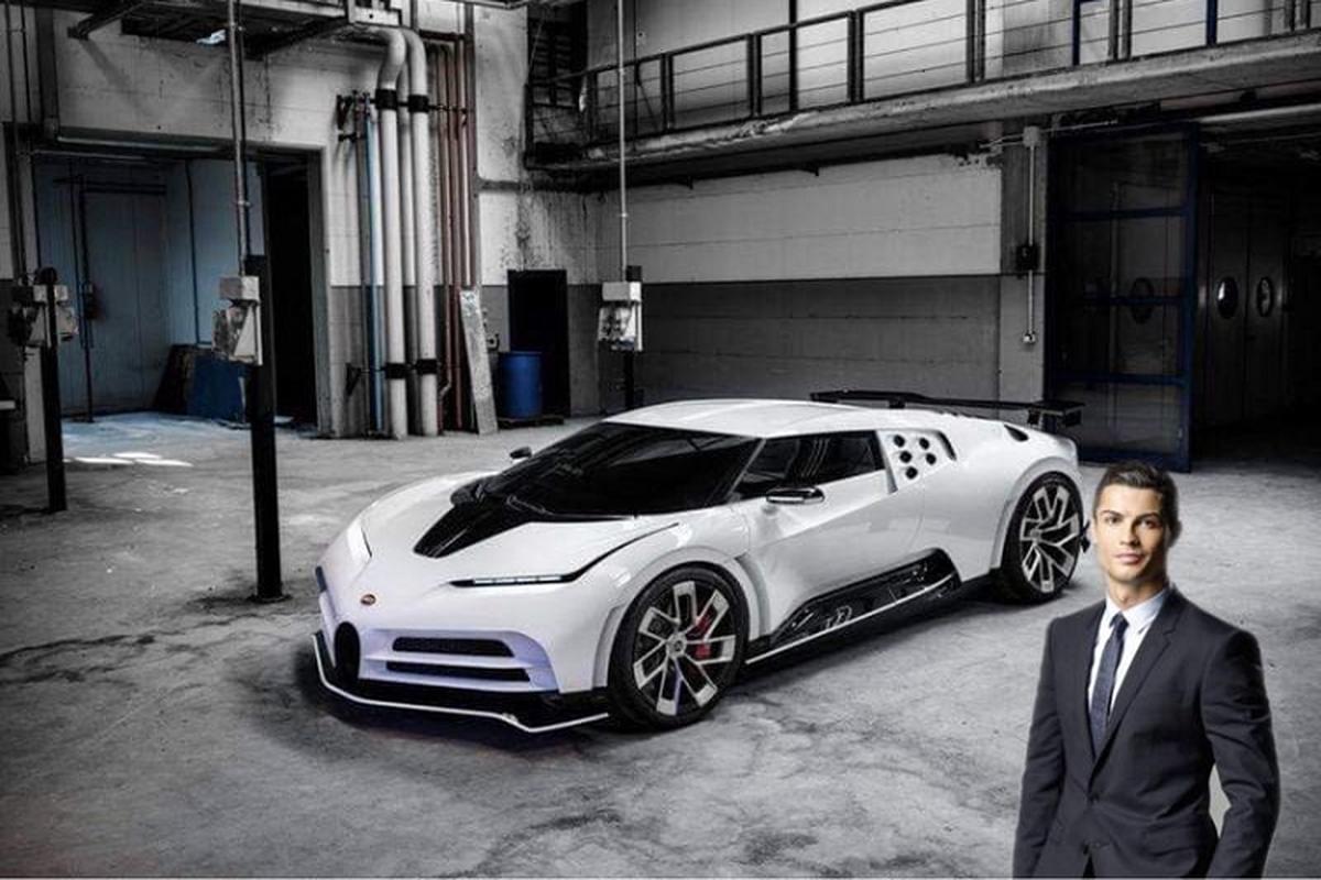 Bugatti Centodieci hon 215 ty dong sap ban giao cho Ronaldo