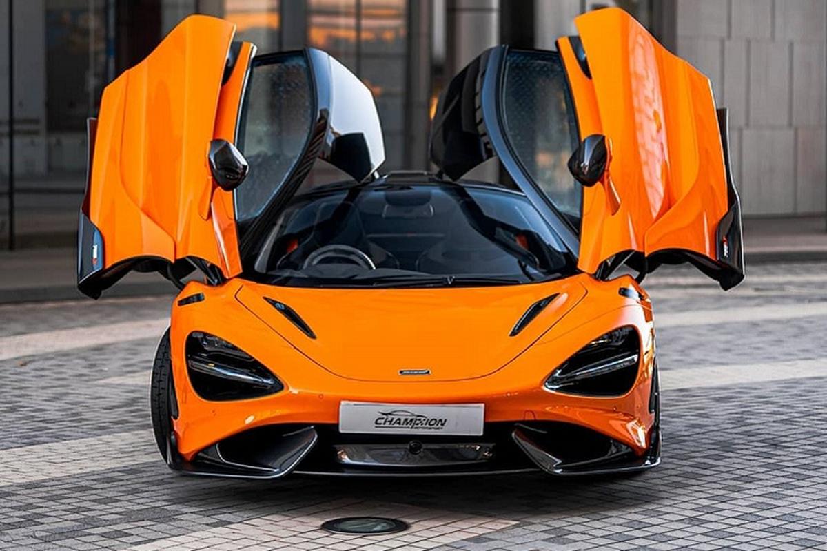 Sieu xe McLaren 765LT dau tien den tay dai gia Hong Kong