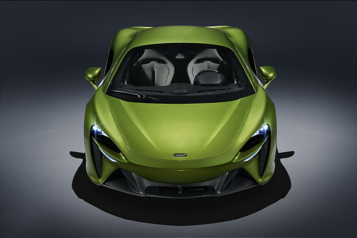 McLaren Artura – siêu xe hybrid động cơ V6 không số lùi