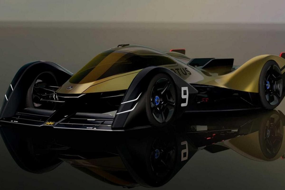 """Lotus E-R9, sieu xe cua nam 2030 voi than vo """"biet bien hinh"""""""
