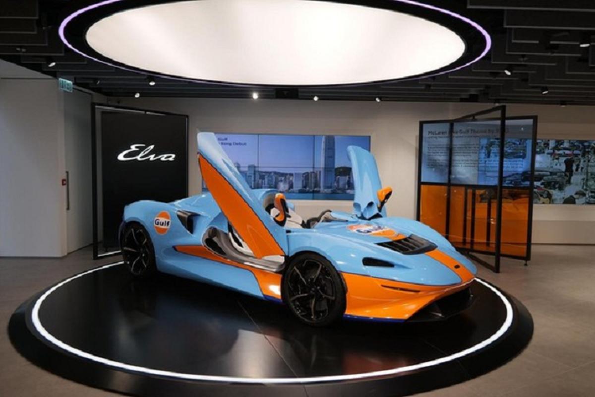 Sieu xe khong mui McLaren Elva hon 42 ty dong den Hong Kong