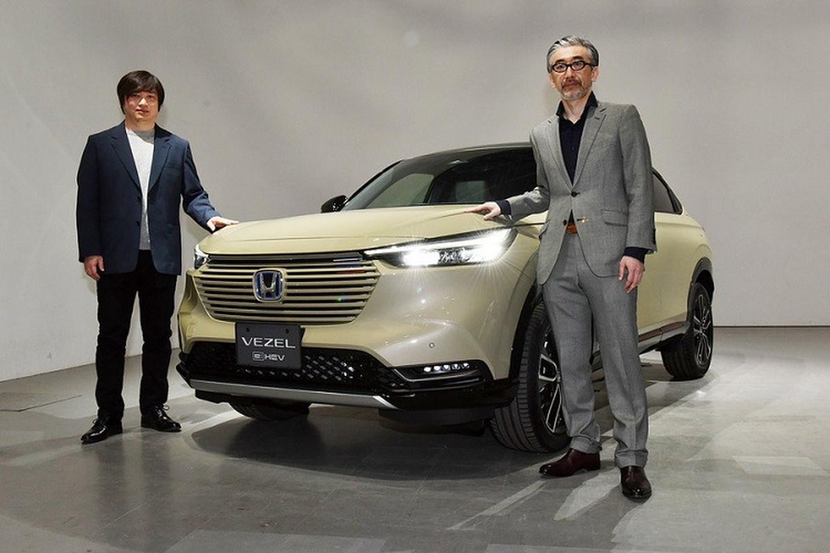 """Ngam Honda HR-V 2021 moi ra mat  """"bang xuong, bang thit""""-Hinh-4"""