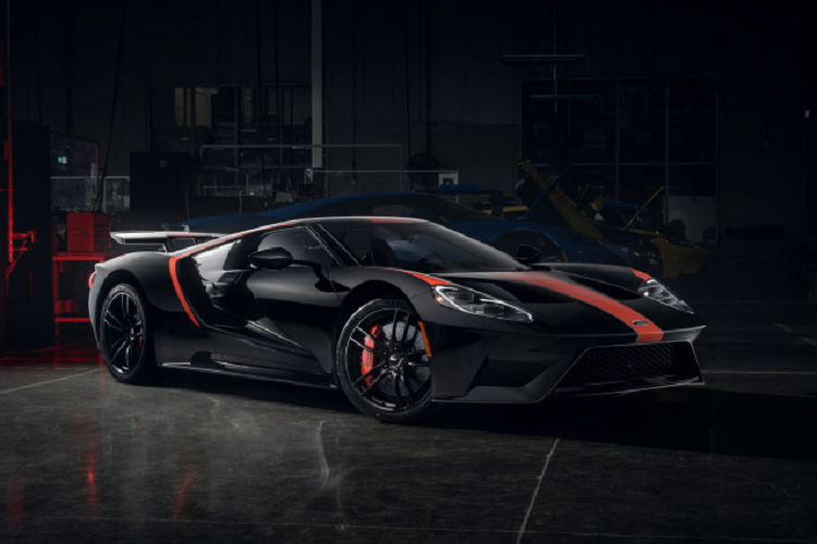 Ford GT 2021 phien ban Studio Collection, gioi han 40 chiec