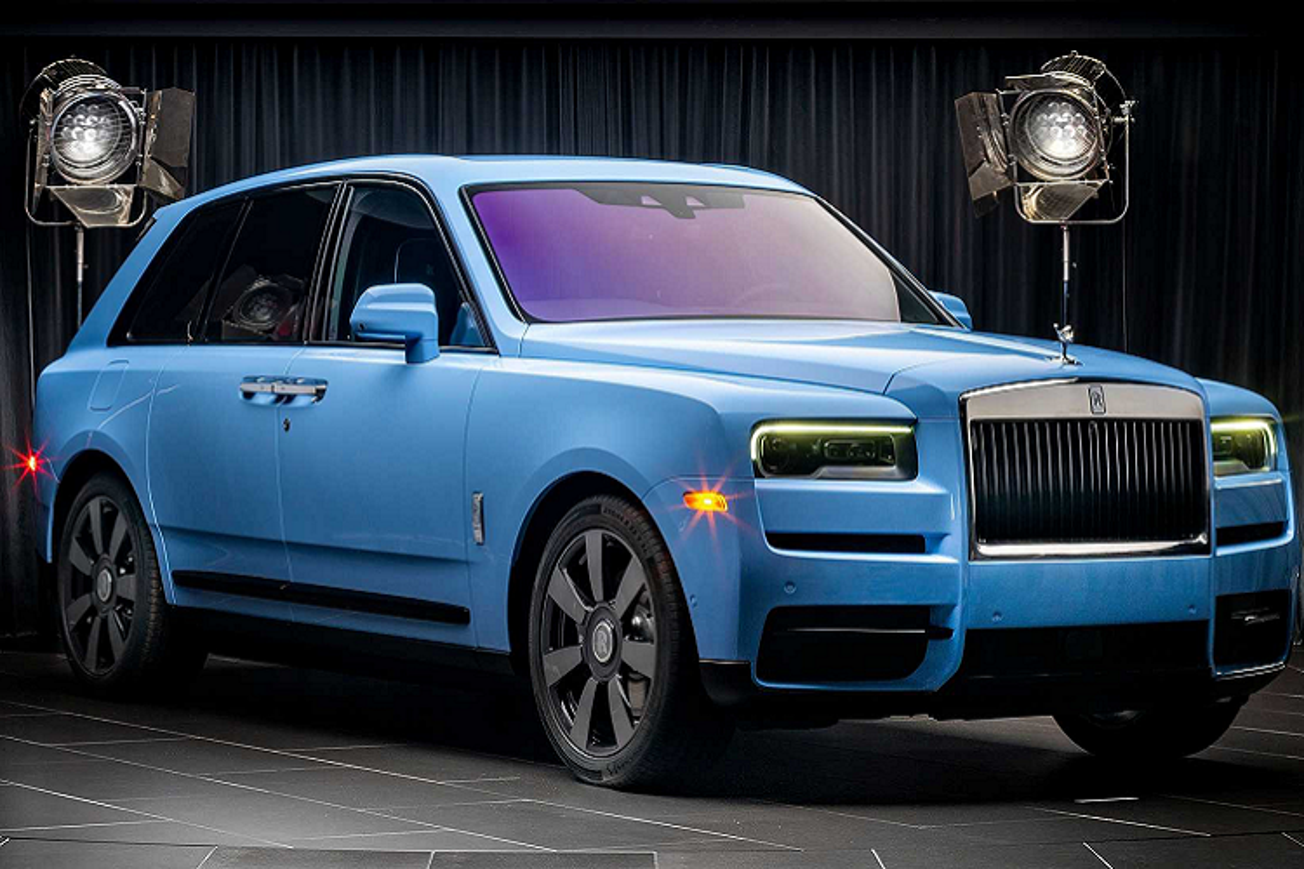 SUV sieu sang Rolls-Royce Cullinan them tuy chon mau sac moi