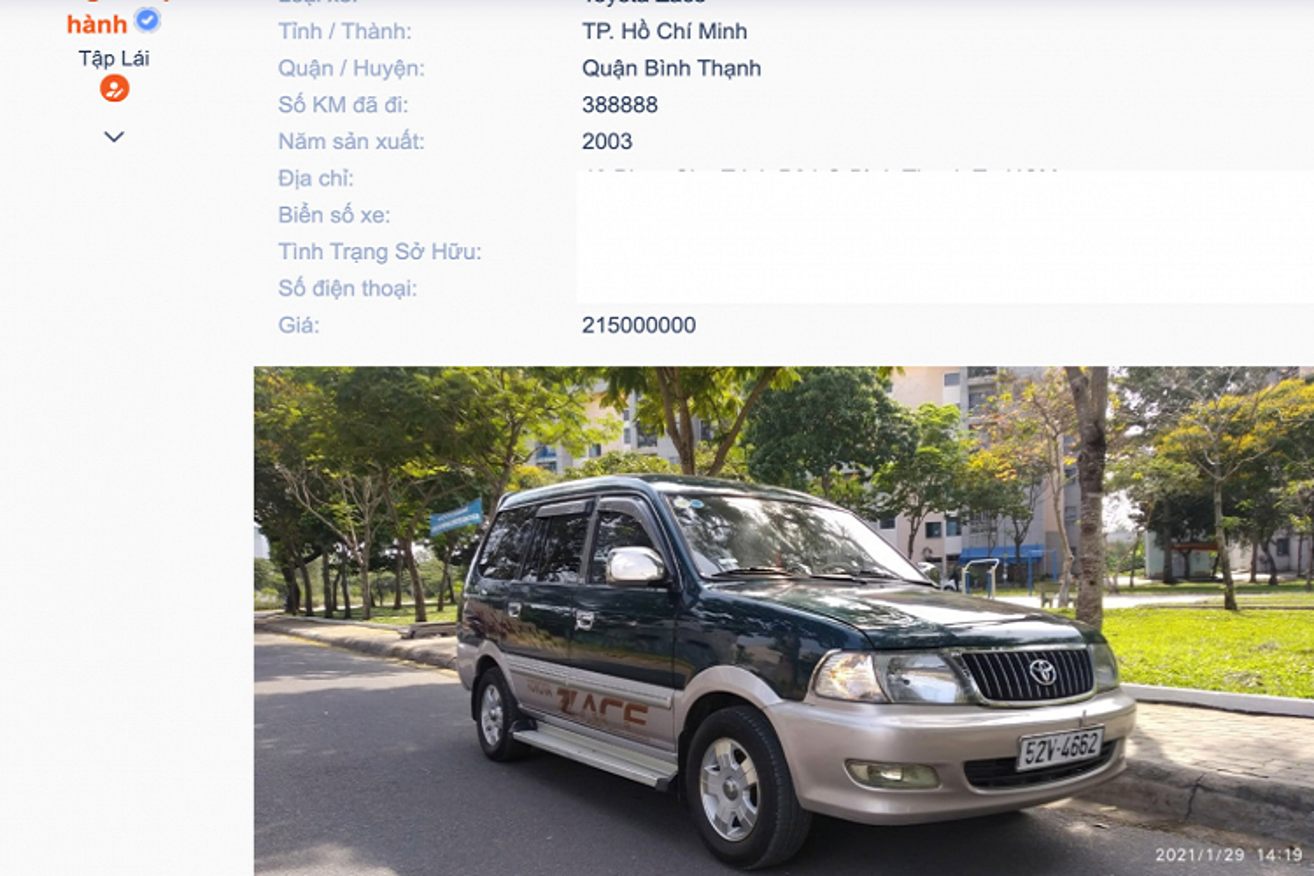 Co nen mua Toyota Zace gan 20 tuoi, ban 200 trieu o Sai Gon?-Hinh-9