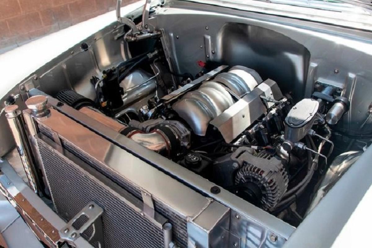 Ngam Chevrolet Bel Air 66 tuoi bong bay, manh toi 525 ma luc-Hinh-3