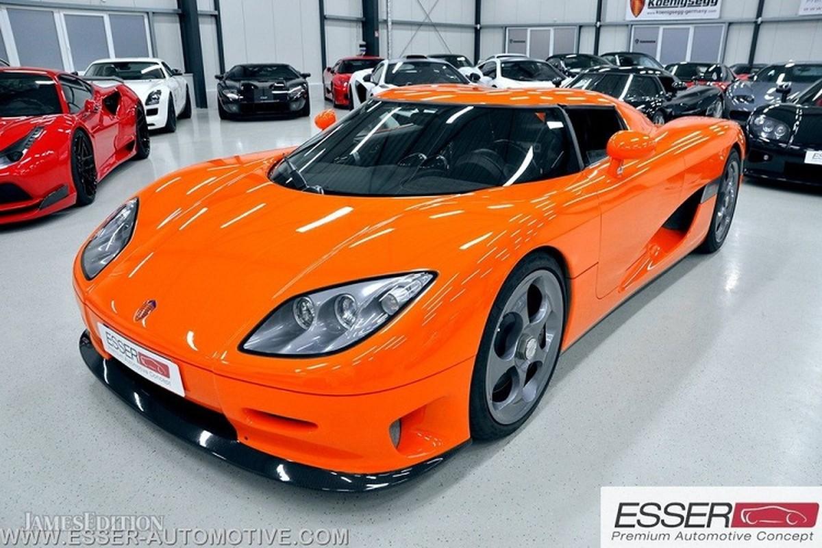 Sieu xe Koenigsegg CCR dung 17 nam rao ban 32 ty dong