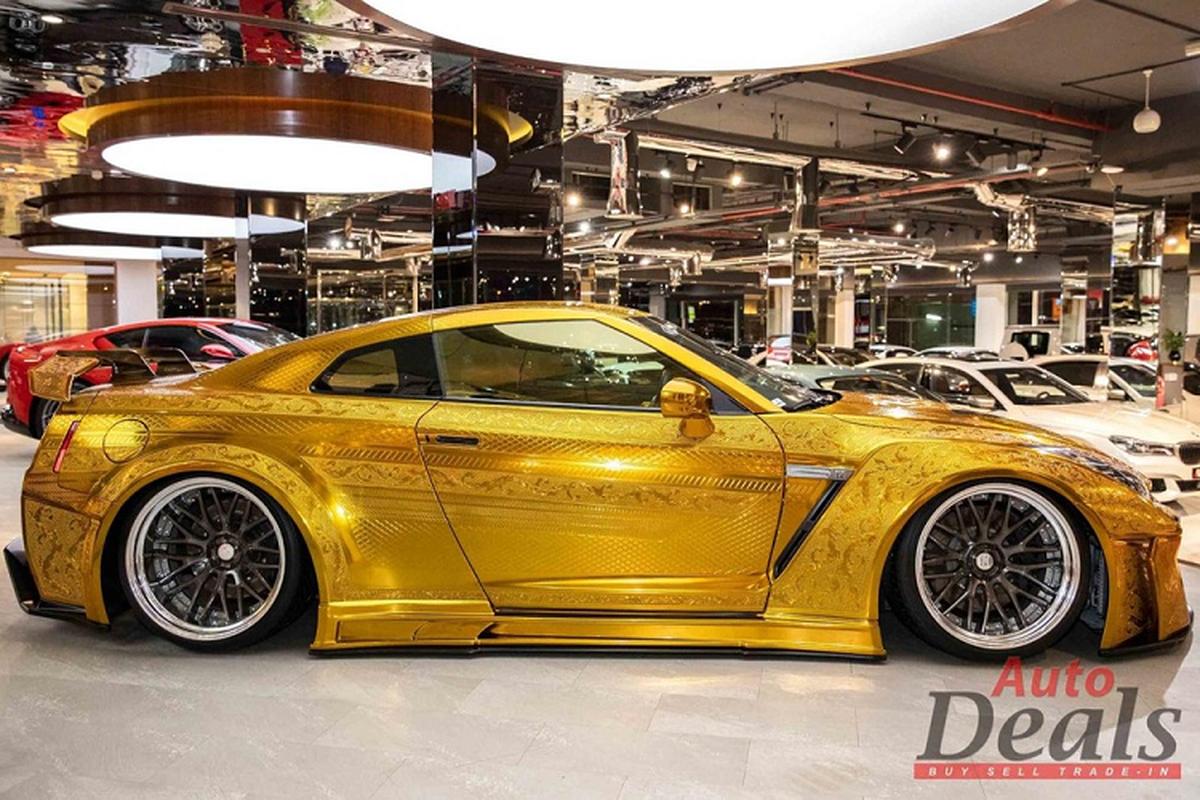 Chiec Nissan GT-R R35