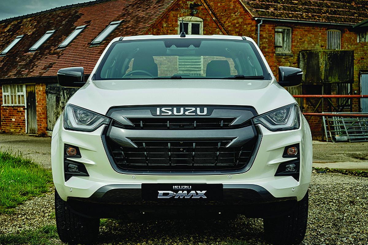 Isuzu D-Max thế hệ mới được ra mắt tại Anh, từ 683 triệu đồng