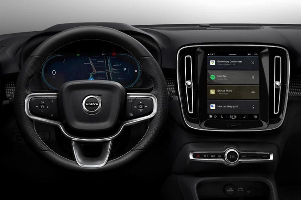 SUV thuan dien Volvo XC40 Pure Electric sap ra mat Dong Nam A vao thang 3/2021-Hinh-3