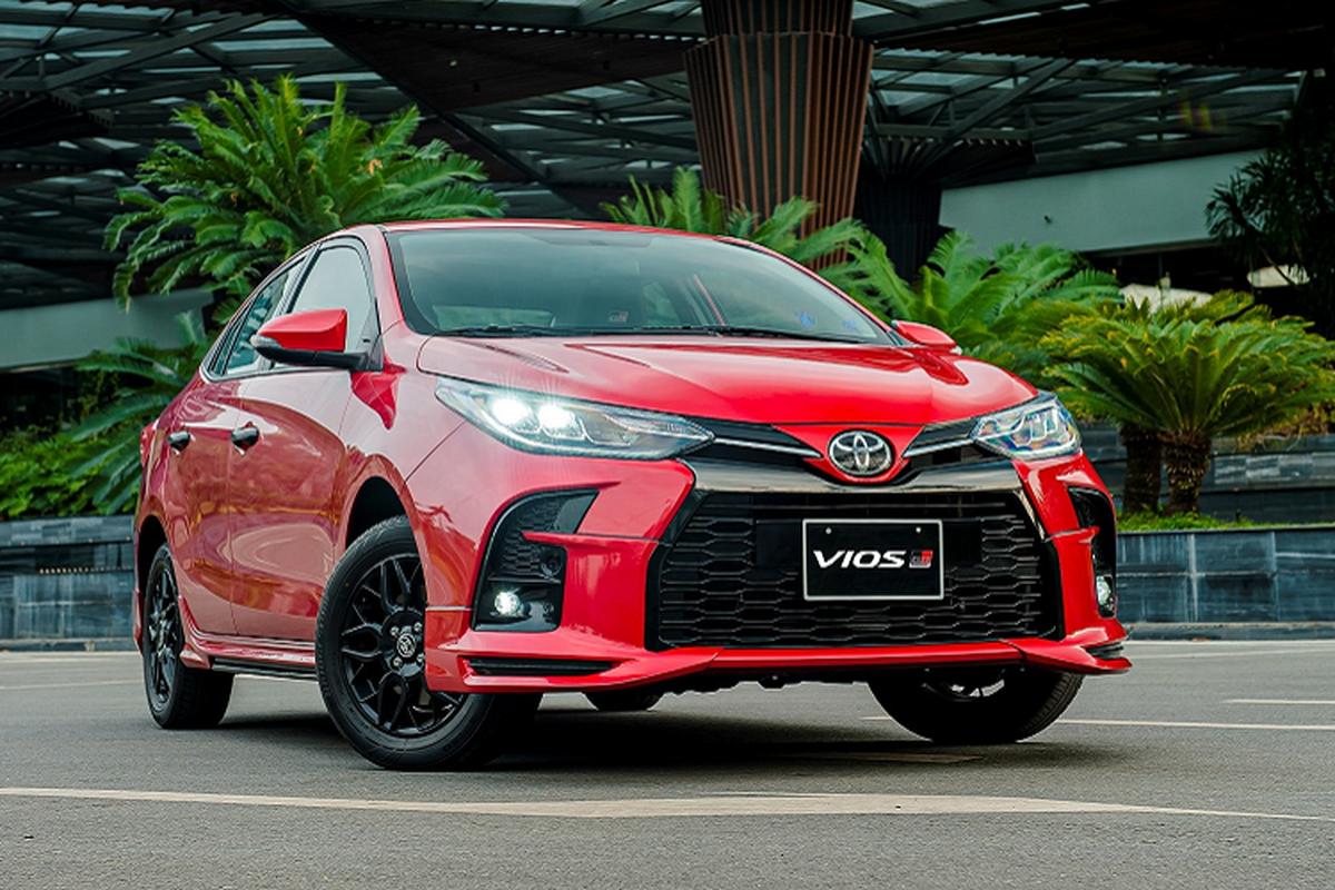 Toyota Vios 2021 tu 478 trieu tai Viet Nam thay doi nhung gi?