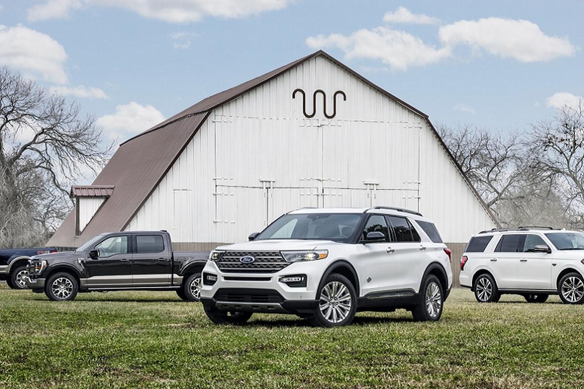 Ford Explorer King Ranch 2021 ra mắt, từ hơn 1,2 tỷ đồng