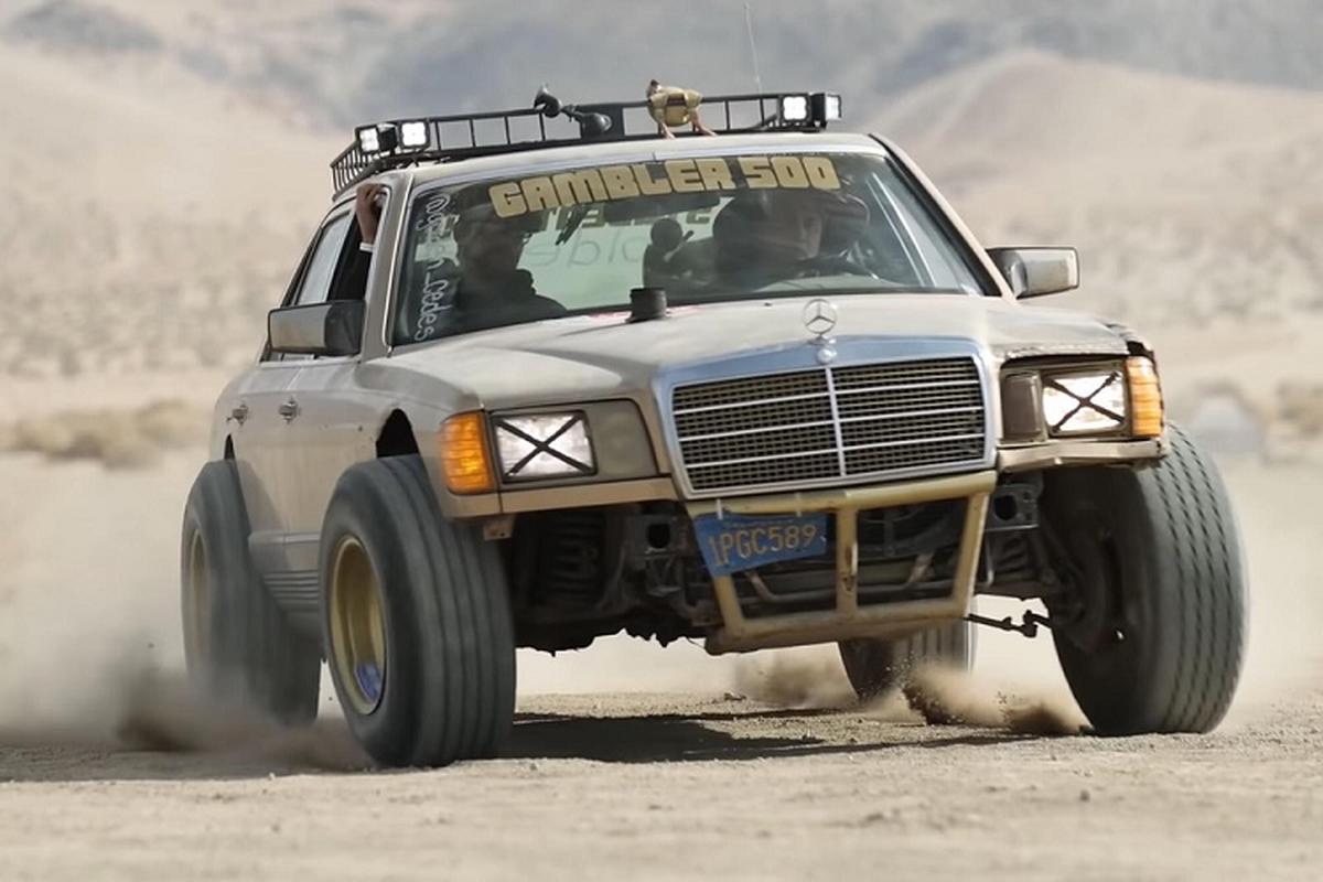 """Mercedes S-Class độ đua việt dã """"siêu ấn tượng"""" chỉ 20 triệu đồng"""