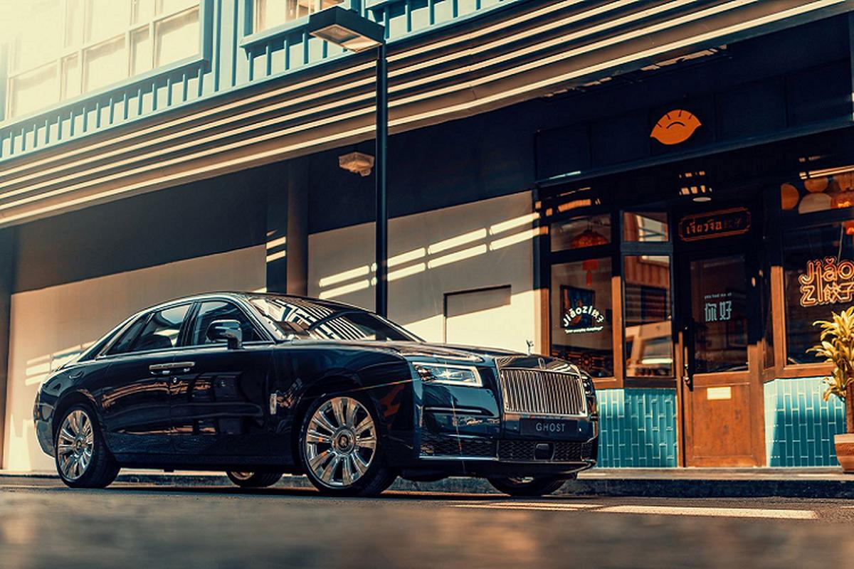 Chi tiet Rolls-Royce Ghost 2021, tu hon 23 ty dong tai Thai Lan-Hinh-13