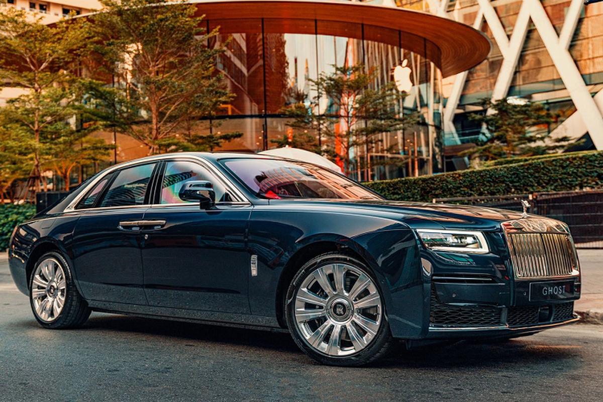 Chi tiet Rolls-Royce Ghost 2021, tu hon 23 ty dong tai Thai Lan-Hinh-4