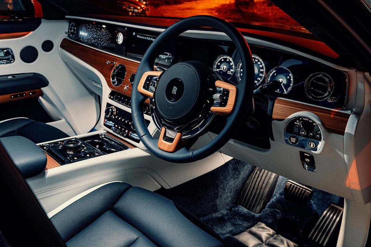 Chi tiet Rolls-Royce Ghost 2021, tu hon 23 ty dong tai Thai Lan-Hinh-6