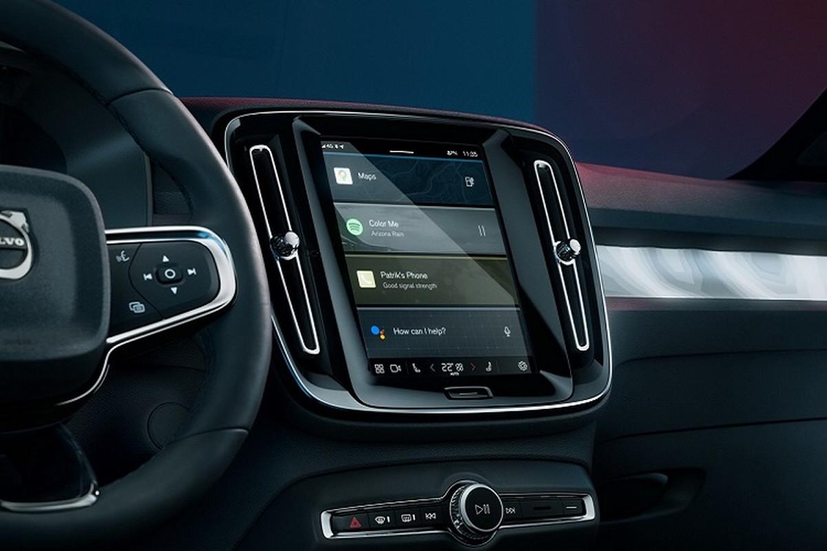 Volvo C40 Recharge 2022 chay dien toi 420km/lan sac-Hinh-7