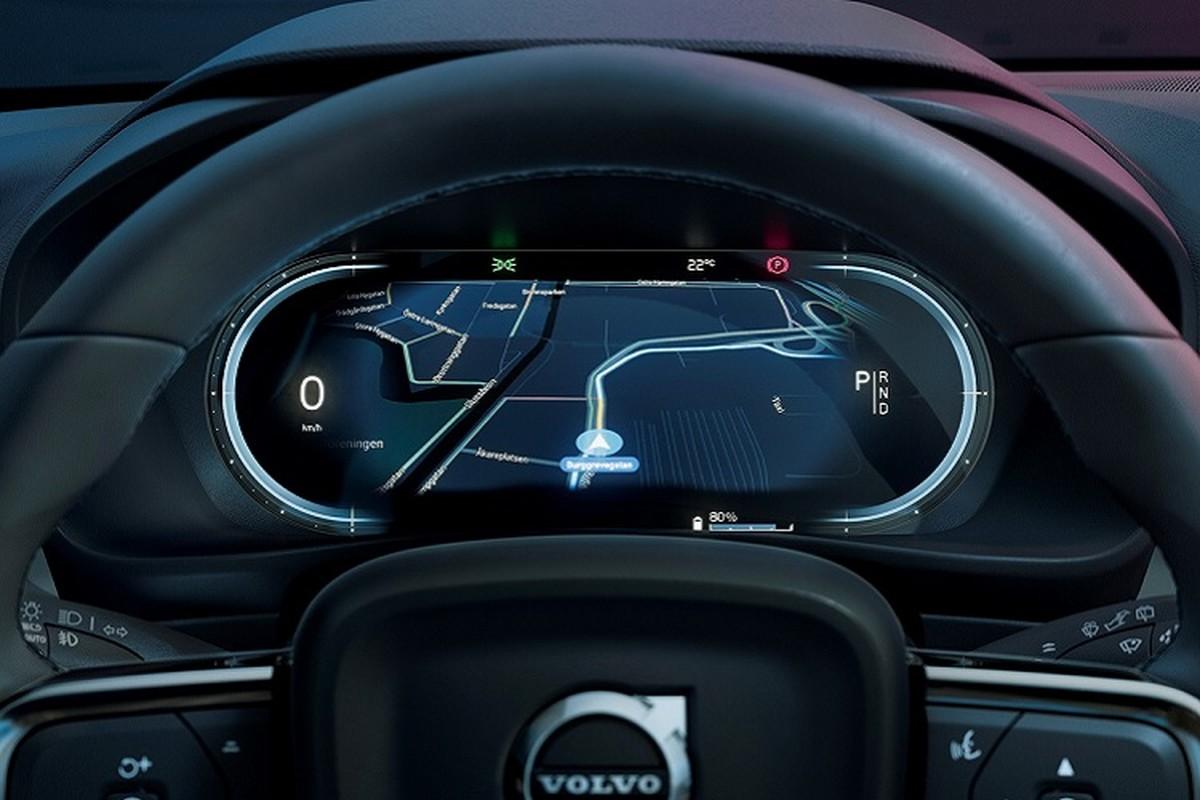 Volvo C40 Recharge 2022 chay dien toi 420km/lan sac-Hinh-9