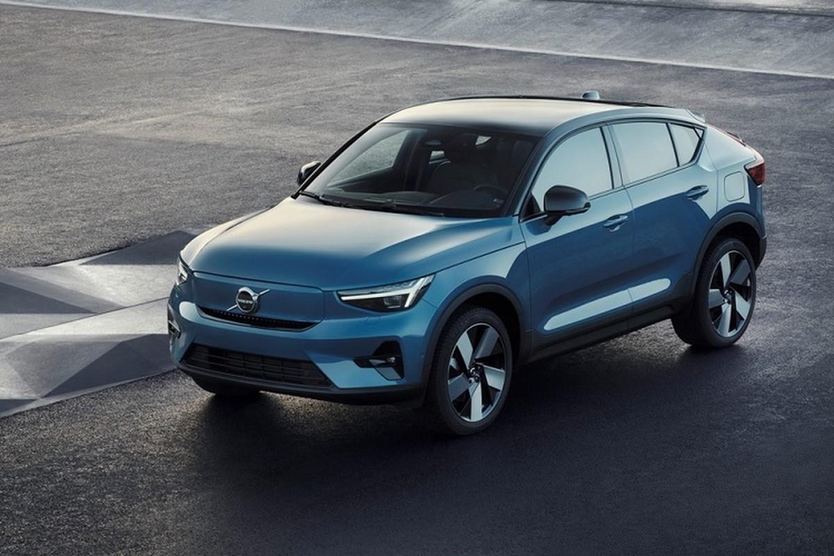 Volvo C40 Recharge 2022 chay dien toi 420km/lan sac