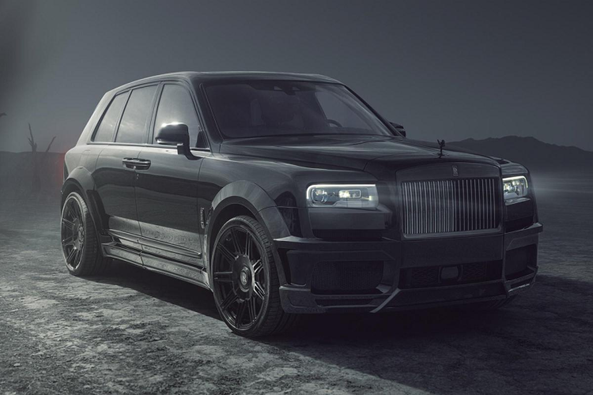 Sieu sang Rolls-Royce Cullinan Black Badge sieu manh nho Spofec
