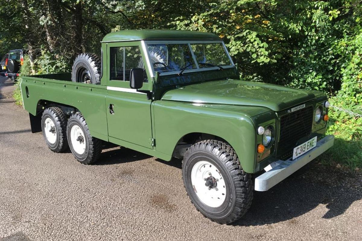 Land Rover 6x6 doi 1981