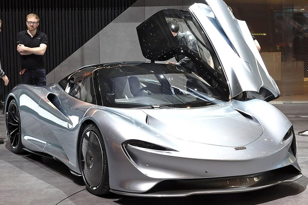 Sieu xe McLaren Speedtail dau tien den Thai Lan, hon 145 ty dong