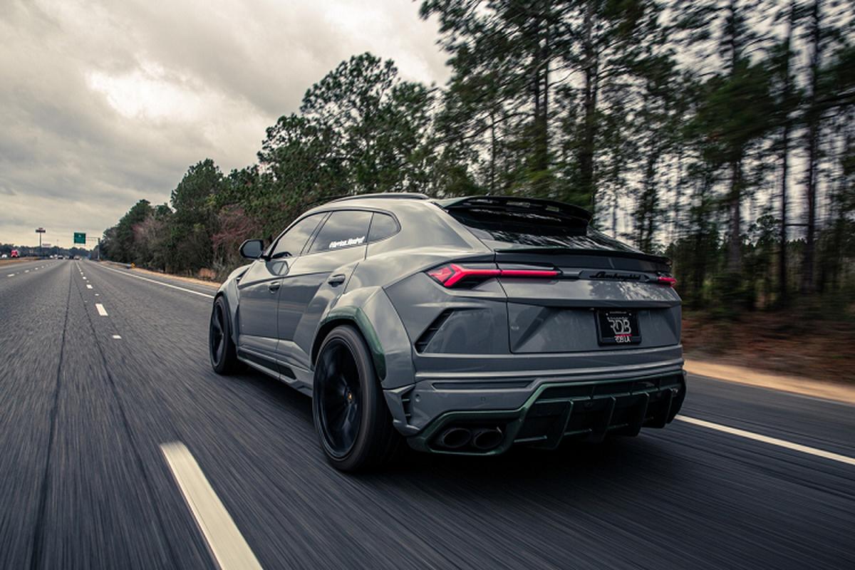 Sieu SUV Lamborghini Urus do carbon cuc doc, gia 350.000 USD-Hinh-2