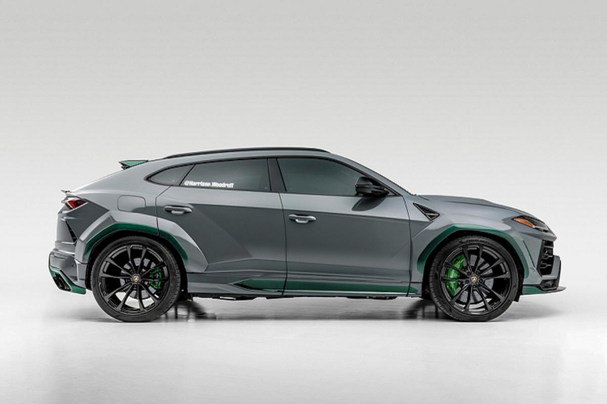 Sieu SUV Lamborghini Urus do carbon cuc doc, gia 350.000 USD-Hinh-6
