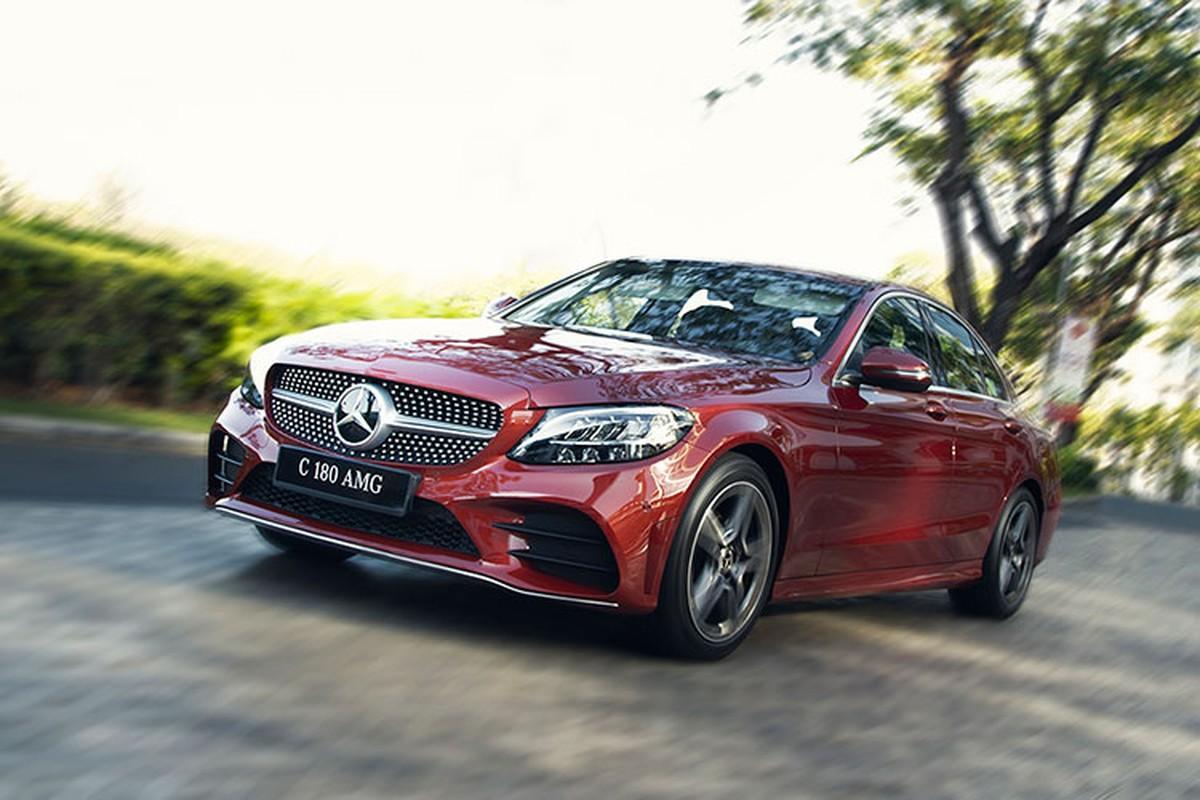 Chi tiet Mercedes-Benz C108 AMG 2021 duoi 1,5 ty tai Viet Nam-Hinh-11
