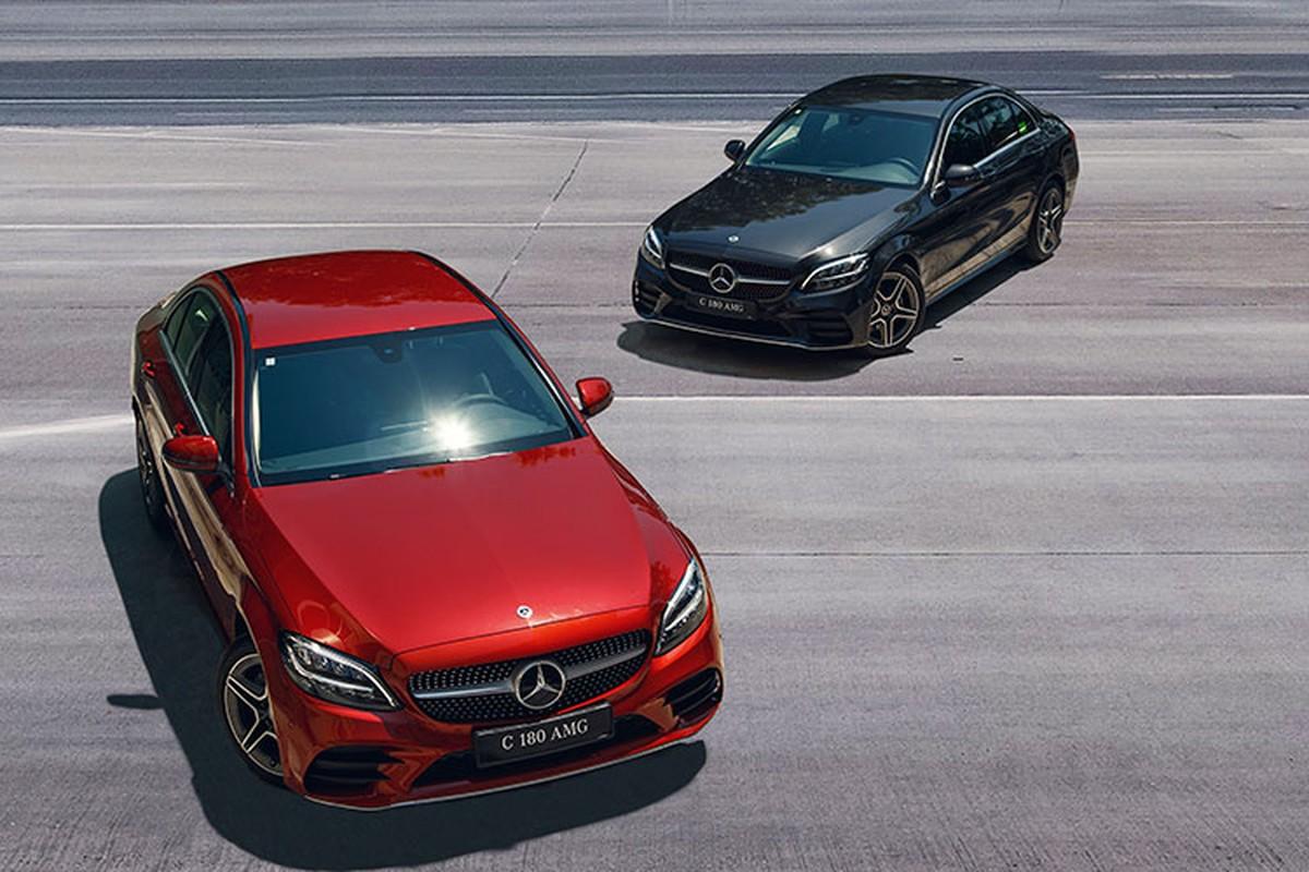 Chi tiet Mercedes-Benz C108 AMG 2021 duoi 1,5 ty tai Viet Nam-Hinh-13
