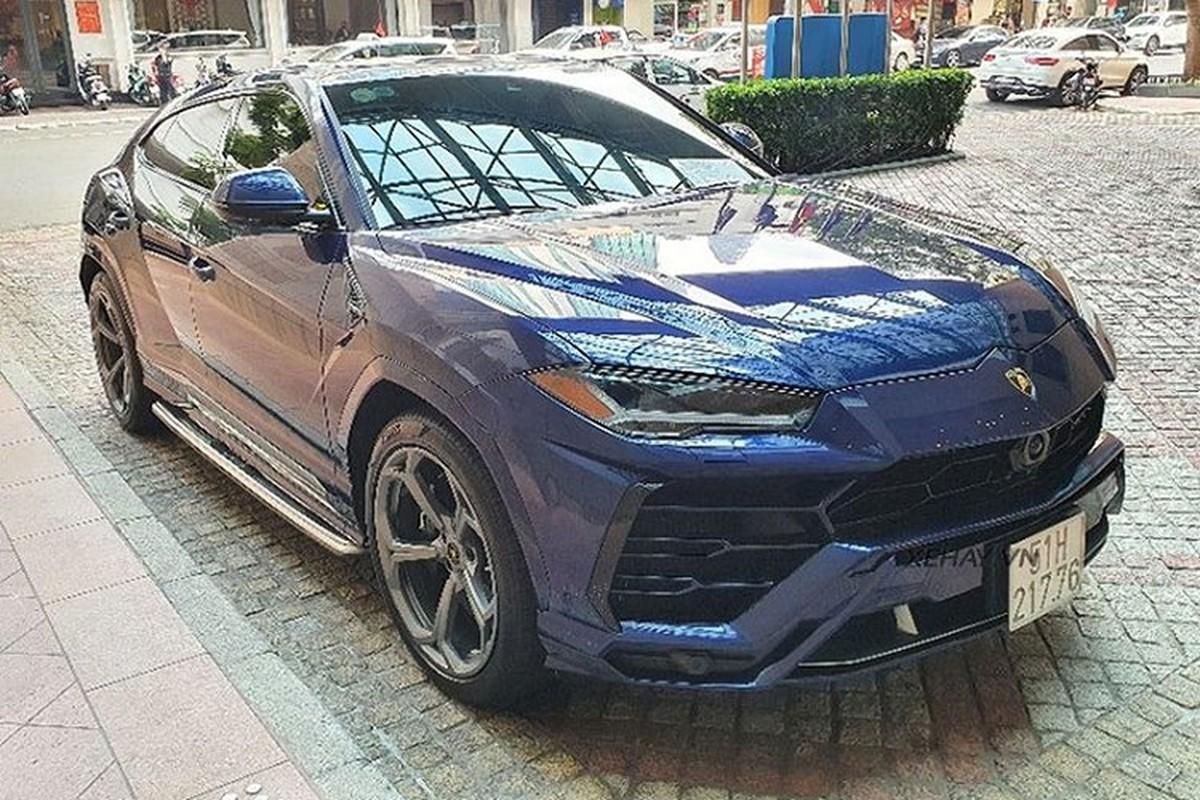 Sieu SUV Lamborghini Urus hon 20 ty mau son hiem tai Viet Nam-Hinh-7